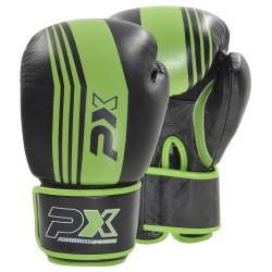 Phoenix PX Boxhandschuhe Leder schwarz grün