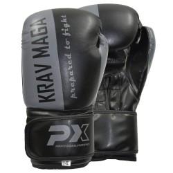 Phoenix PX Boxhandschuh Krav Maga schwarz grau