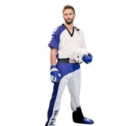 Top Ten Bow Kickboxuniform Weiß Blau Schwarz Kids