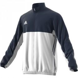Abverkauf Adidas T16 Team Jacke Männer Navy Blau Weiss AJ5383