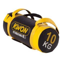 Kwon Fitnessrolle schwarz gelb 10kg