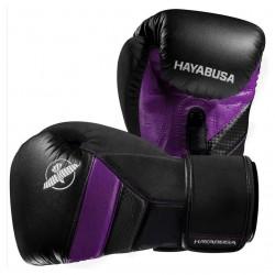 Hayabusa T3 Boxing Gloves Black Purple