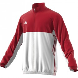 Adidas T16 Team Jacke Männer Power Rot Weiss AJ5384