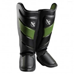 Hayabusa T3 Striking Shinguards Black Green