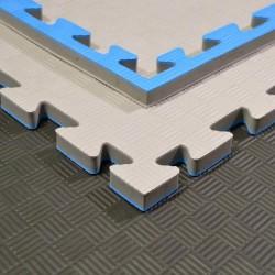 Phoenix Puzzlematte 100x100x2cm grau blau