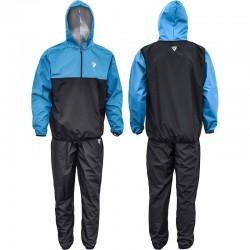 RDX Sauna Suit S6 schwarz blau