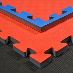 Phoenix Puzzlematte 100x100x2cm Red Blue