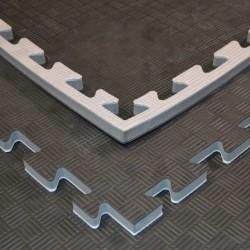 Phoenix Puzzlematte 100x100x2cm Black Grey