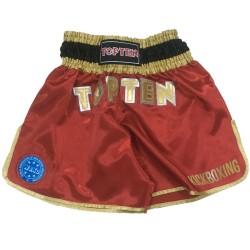 Top Ten Wako Kickboxshort Rot