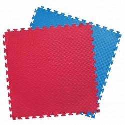 Kwon Clubline Steckmatte Reversible Puzzlematte rot blau 2cm