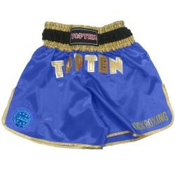 Top Ten Wako Kickboxshort Blau