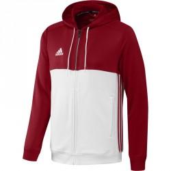 Adidas T16 Hoodie Männer Power Rot Weiss AJ5411