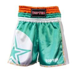 Top Ten Star Thaiboxshort Grün