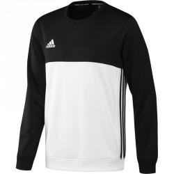 Abverkauf Adidas T16 Team Sweater Männer Schwarz Weiss AJ5418