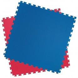 Kwon Clubline Puzzlematte rot blau WT rec. 2.4cm