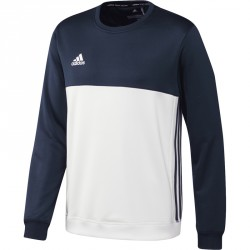 Abverkauf Adidas T16 Team Sweater Männer Navy Blau Weiss AJ5419