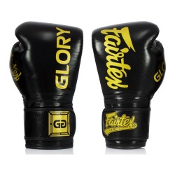 Fairtex X Glory Boxhandschuhe Black Gold