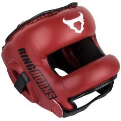 Ringhorns Nitro Headguard Red