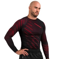 Hayabusa Odor Resist Rashguard LS Red