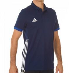 Adidas T16 Team Polo Männer Navy Blau Weiss AJ5278