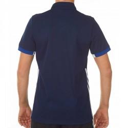 Abverkauf Adidas T16 Team Polo Männer Navy Blau Weiss AJ5278