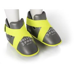 Paffen Sport Kids Fussschutz Grau Neongelb