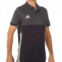 Abverkauf Adidas T16 Climacool Polo Männer Schwarz Grau AJ5481