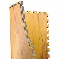 Kwon Wendematte Noppenstruktur 2.5cm Holz Sand
