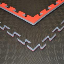 Phoenix Puzzlematte 100x100x2cm rot schwarz