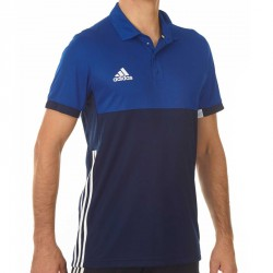 Abverkauf Adidas T16 Climacool Polo Männer Navy Royal Blau AJ5482