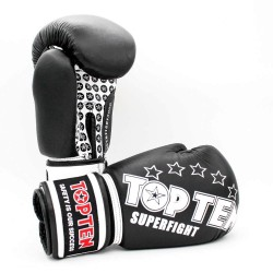 Top Ten Superfight 3000 Boxhandschuhe Schwarz