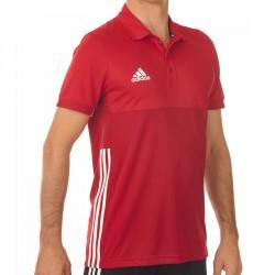 Abverkauf Adidas T16 Climacool Polo Männer Power Scarlet Rot AJ5483