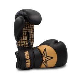 Top Ten Wrist Star Boxhandschuhe Schwarz Gold