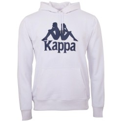Kappa Taino Hooded Sweatshirt White