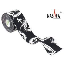 Nasara Dragon Kinesiologie Tape Black 5cm x 5m