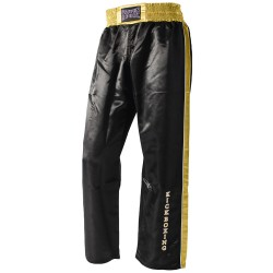 Paffen Sport Kick Star Kickboxhose Schwarz Gold