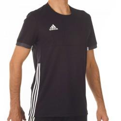 Adidas T16 Team T-Shirt Männer Schwarz Weiss AJ5306