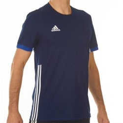 Adidas T16 Team T-Shirt Männer Navy Blau Weiss AJ5307