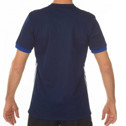 Abverkauf Adidas T16 Team T-Shirt Männer Navy Blau Weiss AJ5307