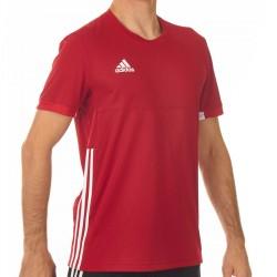 Adidas T16 Team T-Shirt Männer Power Rot Weiss AJ5308