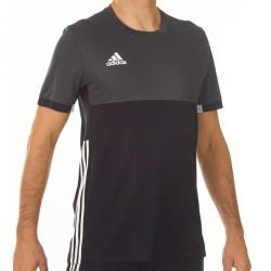 Adidas T16 Climacool T-Shirt Männer Schwarz Grau AJ5444
