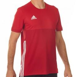 Adidas T16 Climacool T-Shirt Männer Power Scarlet Rot AJ5446