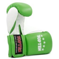 Top Ten NK II Boxhandschuhe Grün 10oz