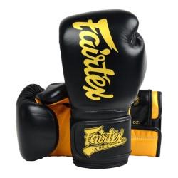 Fairtex BGV18 Super Sparing Boxhandschuhe Black Gold