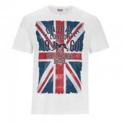 Lonsdale Glasgow Herren T-Shirt White