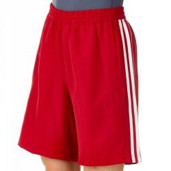 Abverkauf Adidas T16 Woven Short Männer Power Rot Weiss AJ5295
