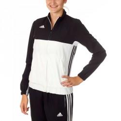 Adidas T16 Team Jacke Damen Schwarz Weiss AJ5326