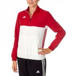 Abverkauf Adidas T16 Team Jacke Damen Power Rot Weiss AJ5328