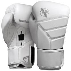 Hayabusa T3 Kanpeki Boxing Gloves White