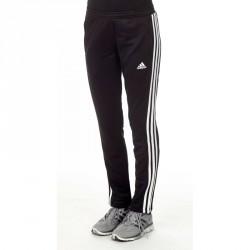 Abverkauf Adidas T16 Team Sweat Hose Damen Schwarz Weiss AJ5390